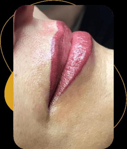 Servizi di trucco permanente labbra